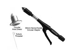 تصویر درمان بواسیر با استاپلر