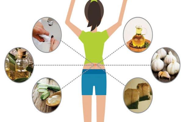 تصویر درمان خانگی کیست موسس