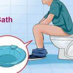 تاثیر حمام sitz در درمان بواسیر، شقاق، فیستول و کیست مویی
