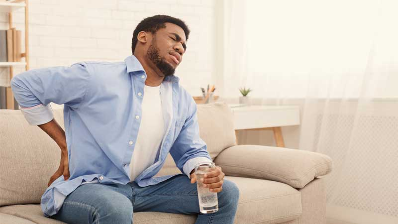 چگونگی نشستن در مبتلایان به بواسیر یا هموروئید